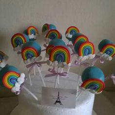 Popcakes arco iris