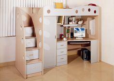 cama muebles escritorio