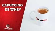 #cappuccino #whey Chocolate, Mugs, Tableware, Cappuccino Recipe, Drink Recipes, Vanilla, Meals, Dinnerware, Tumblers