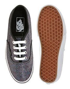 Vans - Authentic - Baskets - Éclat noir