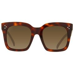 Céline New Audrey Sunglasses ($320) ❤ liked on Polyvore featuring accessories, eyewear, sunglasses, lasit, glasses, square sunglasses, celine eyewear, celine sunnies, celine glasses and square glasses