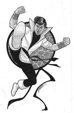Karate Kid by George Perez