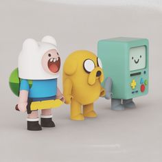Adventure Time fan art by Shoulong Tian on ArtStation. Simple Character, Game Character Design, Character Design Animation, 3d Character, Character Illustration, Illustration Art, Art Illustrations, 3d Artwork, Designer Toys