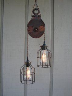 vintage pulley light 4