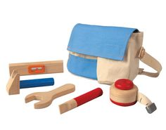 Plan Toys tool belt for toddlers