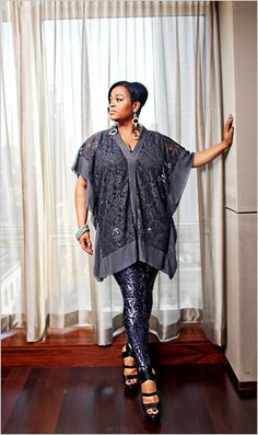 JILL SCOTT FEATURED IN THE NY TIMES FASHION AND STYLE SECTION | STYLISH CURVES