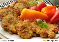 Žampionové placičky s nivou recept - TopRecepty.cz Baked Potato, French Toast, Food And Drink, Eggs, Treats, Chicken, Baking, Breakfast, Ethnic Recipes