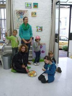 Ateliertour|Krass e.V. An vier hintereinander folgenden Wochenenden im September 2012 hat KRASS Kinder & Jugendliche auf eine Atelier-Tour in ausgewählte Künstlerateliers eingeladen.