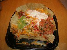 Copycat recipe for taco bells Fully loaded Nacho Salad
