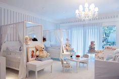 Baby nursery+ i want the little table and chairs!!