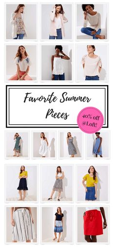 Summer Pieces on Sale from Loft – She Knows Chic, summer fashion, affordable fashion, outfit ideas, #loveloft summer dresses, summer outfit, loft sale, casual style, mom style, teacher style