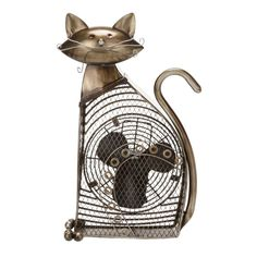 Cat Fancy! This fan will delight feline lovers.