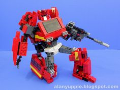 LEGO Ironhide by alanyuppie, via Flickr