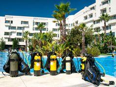 Actividades Deportivas en el Hotel, piscina Adh Isla Cristina, Clases de Submarinismo