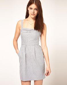 $21 ASOS Tulip Dress in Stripe