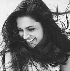 Smile :)) #DeepikaPadukone #HairGoals