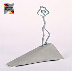"""Skulptur Figur """"Geschafft!"""", Beton, Geschenk zur bestandenen Prüfung Examen Abitur"""