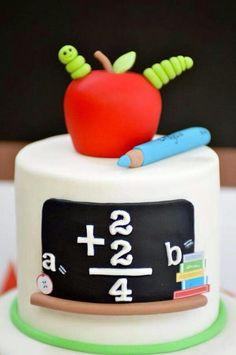 Pastel para maestros
