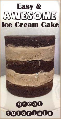 Ice Cream Cake | Little Delights