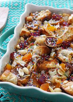 Give a tropical taste to your Easter spread with this spin on a traditional Mexican bread pudding
