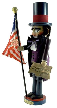 Steinbach Abraham Lincoln American President Nutcracker - Signed. You too can have this for $799.99.