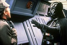Darth Vader Forcechokes Moff Jerjerrod in a deleted scene from Star Wars Return of the Jedi.