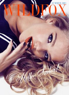 """Hello, Sailor!"" WILDFOX Summer2013 - Wildfox inspiration for artists - Inspiration for artists from Wildfox Couture"