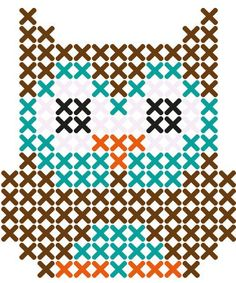 Because Everyone Needs another Owl Cross Stitch Pattern – Cross-Stitch