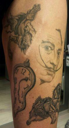 #Tattoofons #Dali #SalvadorDali