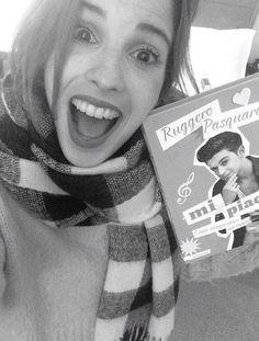 """Todos compren el libro """"Mi piace"""" de Ruggero!!  ES MUY HERMOSO!!!"""