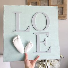 ..and this one! L O V E . . . . . . . . . #lifecasting #lifecastings #impressions #memories #captured #forever #baby #babies #family #love #keepsake #special #sentimental #details #madewithlove #truly #lovemyjob #thankyou #handmade #etsysk #etsymadeincanada #madeincanada #yqr #shopyqr #shoplocal #shopsmall #bunting #banner #details