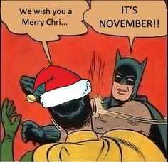 quickmeme is your best source for fun and entertainment. Share & caption memes, and post anything you find interesting or that makes you laugh. Thanksgiving Meme, November Thanksgiving, Funny Images, Funny Pictures, Batman Y Robin, Everything Funny, Christmas Humor, Christmas Music, Merry Christmas