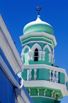 Amazingly bright and colourful mosques of Cape Town, South Africa    Colors of Cape Town Mosques | Islamic Arts and Architecture