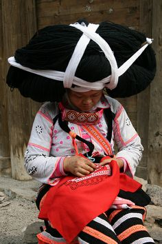 Asia - China / Guizhou + Guangxi by RURO photography, via Flickr * 1500 free paper dolls at international artist Arielle Gabriels The International Paper Doll Society also free Chinese paper dolls The China Adventures of Arielle Gabriel *