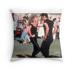 Grease Throw Pillows