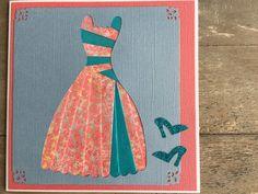 Iris folded Dress