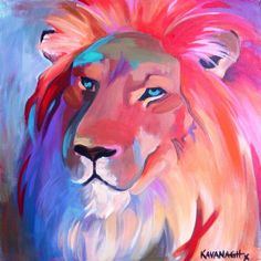 Lion Painting                                                                                                                                                                                 More