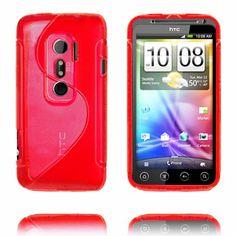 S-Line (Röd) HTC Evo 3D-Skydd
