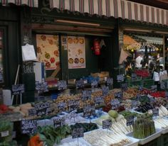 Marktstandl in Wien...