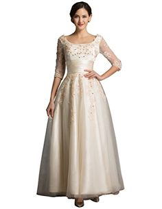 Women's Long Square Neckline Lace Prom Dress with Beadings size 2 Grace Prom Long Dresses http://www.amazon.com/dp/B014PJWYXM/ref=cm_sw_r_pi_dp_8DEJwb15S6840