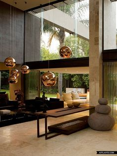 Never underestimate the important of lighting!  Brian Road House // Nico van der Meulen