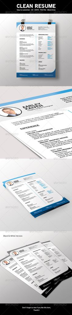 Simple Resume Exampleprin 67 Best Resume Images On Pinterest  Resume Design Design Resume .