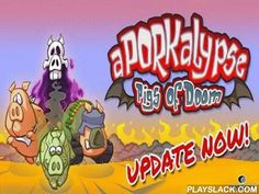 Aporkalypse - Pigs Of Doom!  Android Game - playslack.com , The world of pigs is existed  by threat.  In a medieval prediction it is told that in the far time four Pigs of happening will entitle a day.  But there was something terrible, and the gates of region and region are already ajar!  Now an acquisitive swine of drive, a dense armed swine of War, a septic swine of illnesses and an unreal swine of change have to stop this insanity.  govern the pigs through the descending  world full of…