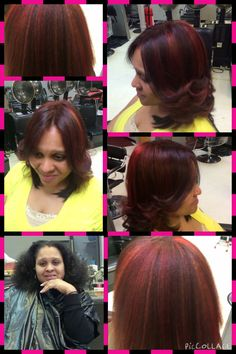 Brown to red natural