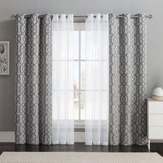 10 layered curtains ideas curtains
