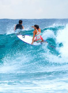Surf girl... Malia Manuel...