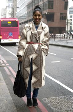 Kenya Hunt, London Topshop Venue | Street Fashion | Street Peeper | Global Street Fashion and Street Style