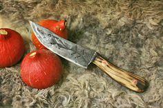 Blacksmithing, forged knife
