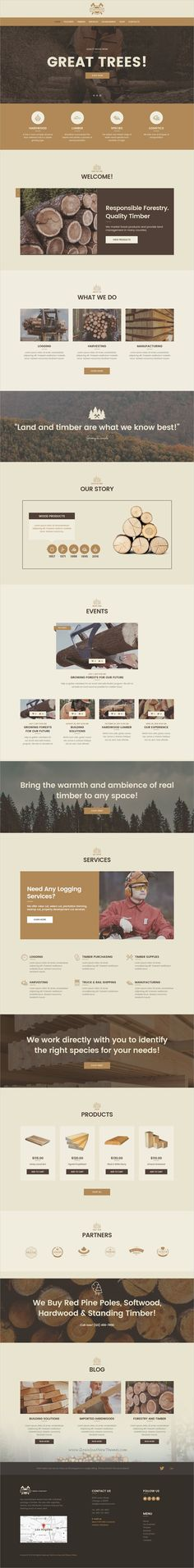 Fortunio is beautifully design 4in1 responsive #WordPress theme for #webdev timber company, #forestry or #wood crafters minimal websites download now➩ https://themeforest.net/item/fortunio-timber-forestry-wood-manufacture-wordpress-theme/17139960?ref=Datasata