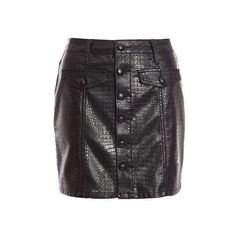 Quiz Ladies Faux Leather Button Front A-Line Skirt - Black   Buy Online in South Africa   takealot.com A Line Skirts, South Africa, Leather Skirt, Buttons, Lady, Stuff To Buy, Fashion, Moda, Leather Skirts
